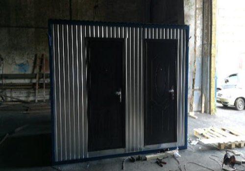 Помещение генераторной и склад инвентаря