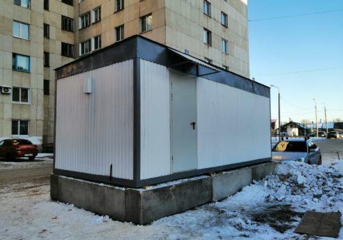 Блок-контейнер для АТС