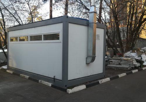 Блок-контейнер для хранения ЛВЖ (взрывозащищенного исполнения)